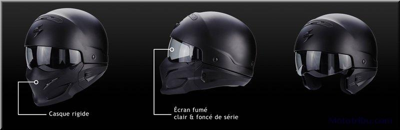 quipement scorpion casque exo combat mototribu. Black Bedroom Furniture Sets. Home Design Ideas