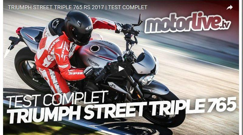 triumph street triple 765 rs 2017 essai vid o mototribu. Black Bedroom Furniture Sets. Home Design Ideas