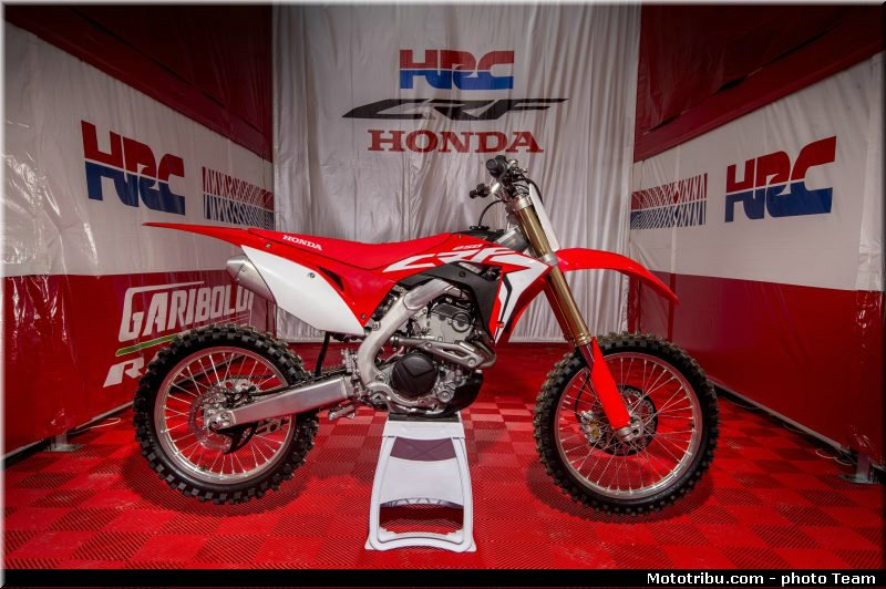 honda crf 250 r 2018 la pr sentation lommel mototribu. Black Bedroom Furniture Sets. Home Design Ideas