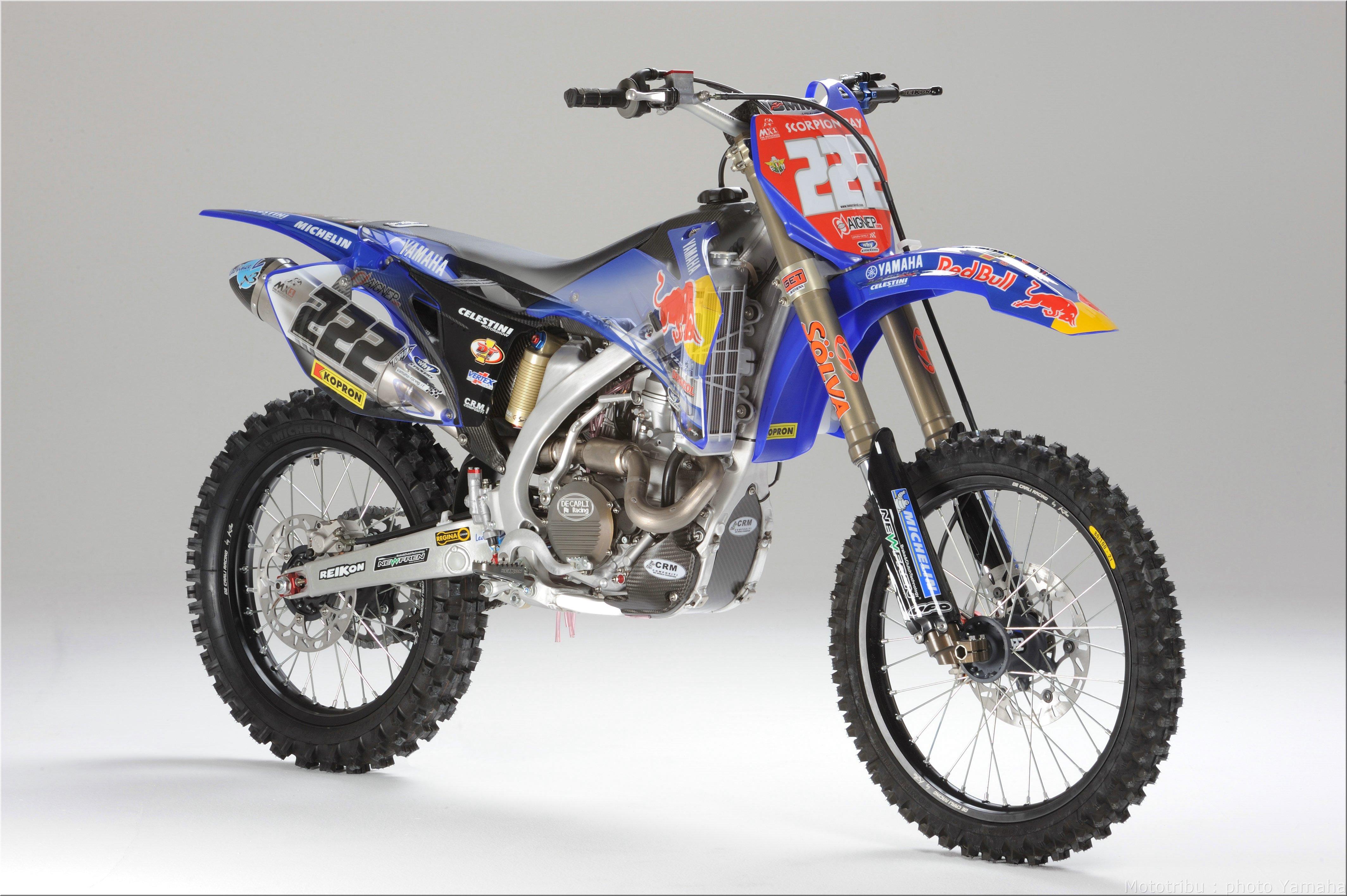 Mototribu : Yamaha YZ 250 F 2008