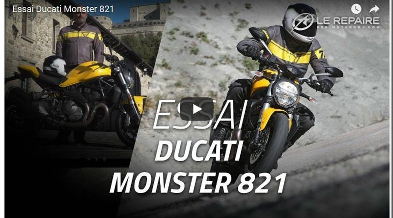 ducati monster 821 2018 l essai du repaire des motards mototribu. Black Bedroom Furniture Sets. Home Design Ideas